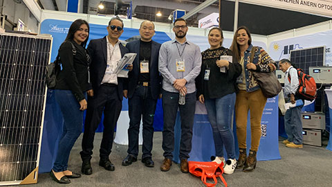 Anern Participated in the Exhibition in Mexico  Exhibition Centre on August 8, 2019.